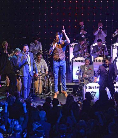 B-Side Band 10 let_výroční koncert v Praze 4.12.2016