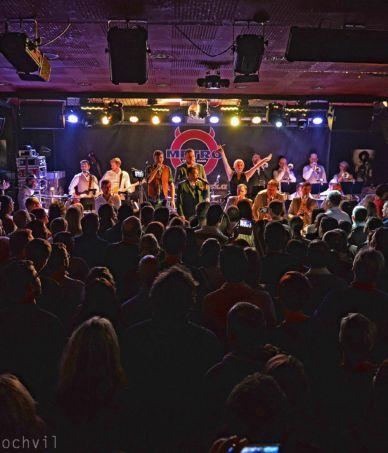 B-Side Band 10 let – výroční koncert v Brně 18.12.2016