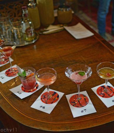 Výběr drinků na TOUR 2017 – Spirit Bar Brno